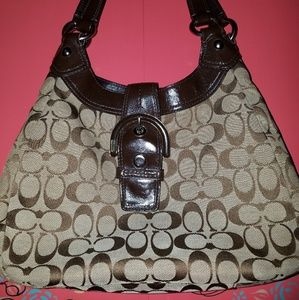 Coach signature Soho handbag F17094